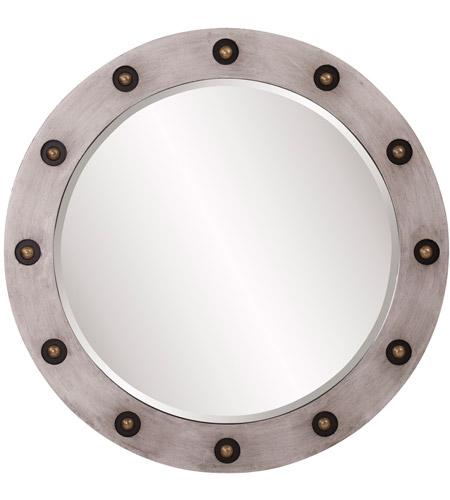 Howard Elliott Collection 14282 Jax 36 X 36 Inch Silver Wall Mirror