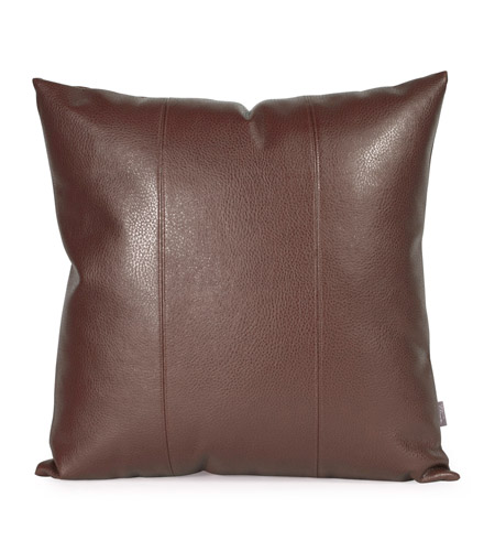 Howard Elliott Collection 2-192 Avanti 20 X 6 inch Deep Brown Pillow, Square photo