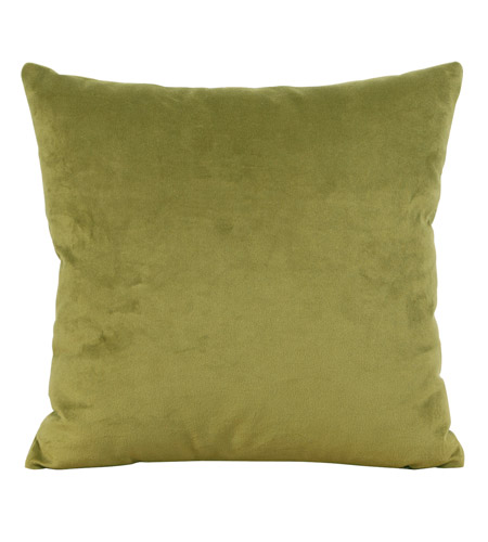 Howard Elliott Collection 2-221F Bella 20 X 6 inch Rich Green Pillow, Square photo