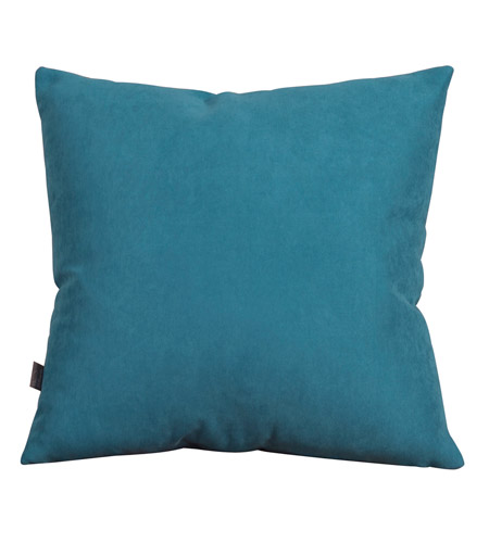 Howard Elliott Collection 2-250F Mojo 20 X 6 inch Blue Pillow, Square photo