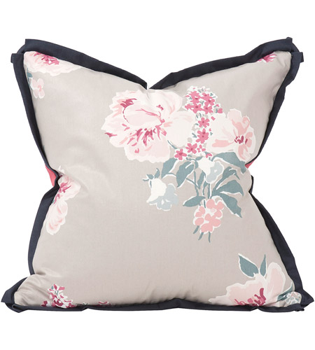 Howard Elliott Collection 2-668F Madcap Cottage 20 inch Isleboro Eve Indigo Pillow, with Down Insert photo