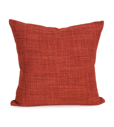 Howard Elliott Collection 2-885 Coco 20 X 6 inch Terra Cotta Pillow, Square photo
