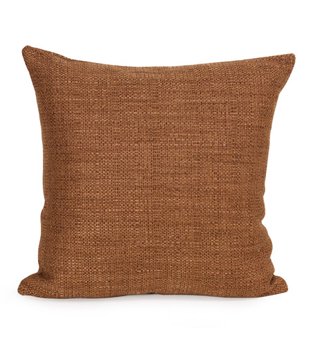 Howard Elliott Collection 2-886F Coco 20 X 6 inch Terra Cotta Pillow, Square photo