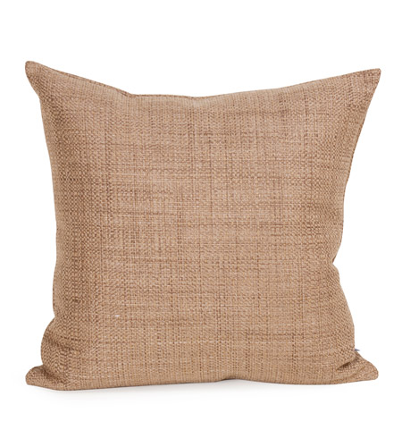 Howard Elliott Collection 2-888 Coco 20 X 6 inch Stone Brown Pillow, Square photo