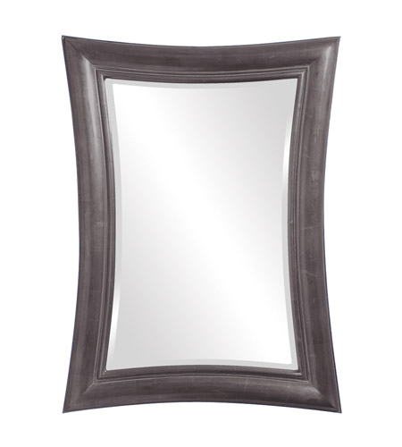 Howard Elliott Collection 2003CH Fairmont 45 X 34 inch Charcoal Gray Wall Mirror, Rectangle photo