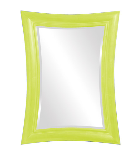 Howard Elliott Collection 2003MG Fairmont 45 X 34 inch Moss Green Wall Mirror, Rectangle photo