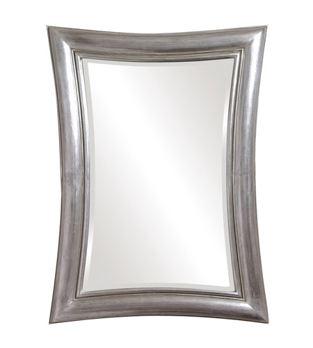 Howard Elliott Collection 2003N Fairmont 45 X 34 inch Nickel Wall Mirror, Rectangle photo