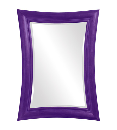 Howard Elliott Collection 2003RP Fairmont 45 X 34 inch Royal Purple Wall Mirror, Rectangle photo