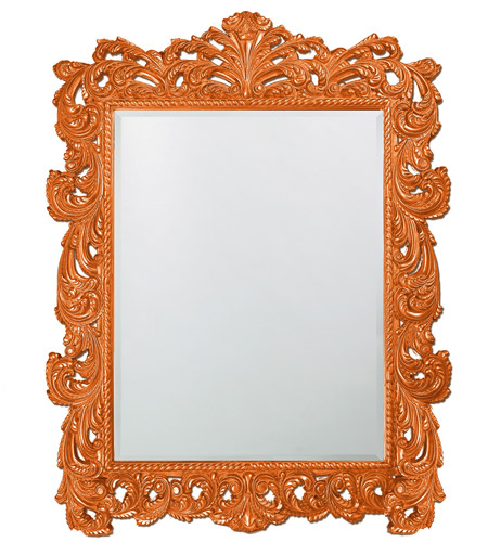 Howard Elliott Collection 2037XLO Napolean 85 X 65 inch Orange Wall Mirror, Rectangle photo
