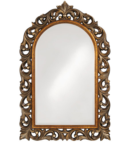 Howard Elliott Collection 2058 Orleans 47 X 30 inch Antique Gold Wall Mirror, Rectangle photo