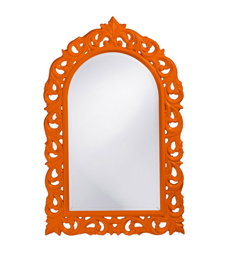 Howard Elliott Collection 2058O Orleans 47 X 30 inch Orange Wall Mirror, Rectangle photo
