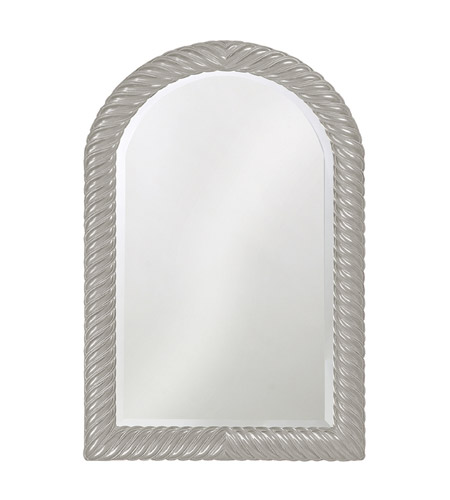 Howard Elliott Collection 2107N Montreal 40 X 26 inch Nickel Wall Mirror, Rectangle photo