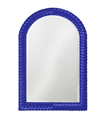 Howard Elliott Collection 2107RB Montreal 40 X 26 inch Royal Blue Wall Mirror, Rectangle photo