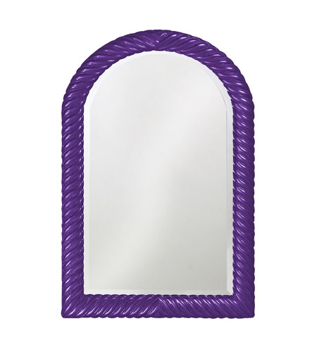 Howard Elliott Collection 2107RP Montreal 40 X 26 inch Royal Purple Wall Mirror, Rectangle photo