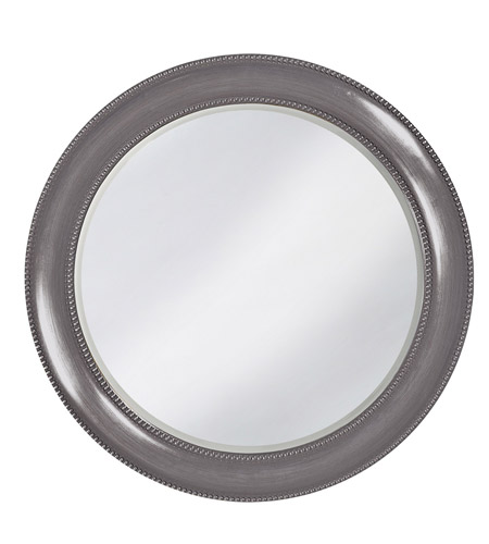 Howard Elliott Collection 2118CH Saturn 40 X 40 inch Charcoal Gray Wall Mirror, Round photo