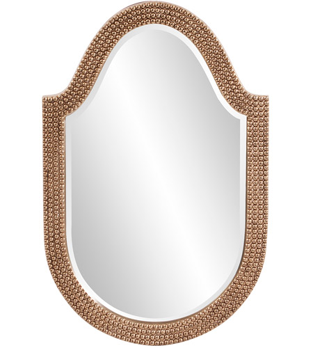 Howard Elliott Collection 2125 Lancelot 32 X 21 inch Silver Leaf Wall Mirror, Oval photo