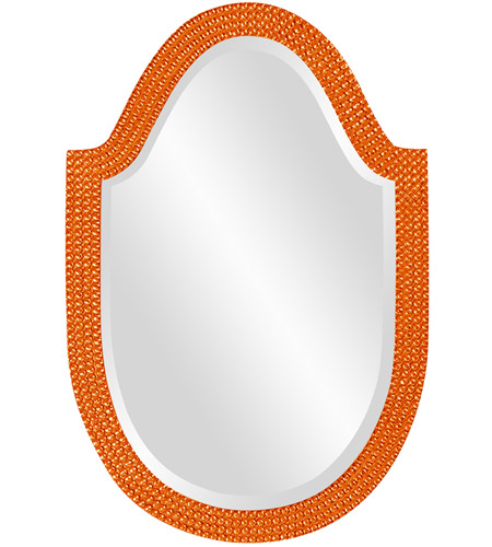 Howard Elliott Collection 2125O Lancelot 32 X 21 inch Orange Wall Mirror, Oval photo