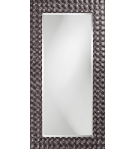 Howard Elliott Collection 2142CH Lancelot 32 X 21 inch Charcoal Gray Wall Mirror, Rectangle photo