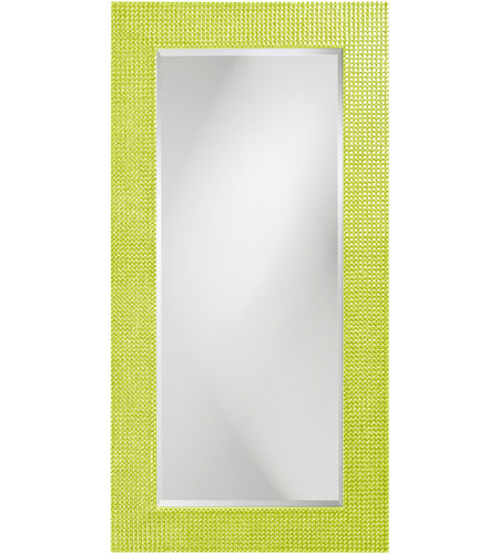 Howard Elliott Collection 2142MG Lancelot 32 X 21 inch Green Wall Mirror, Rectangle photo