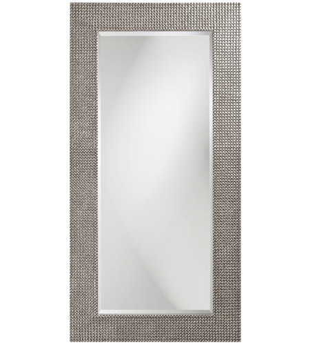 Howard Elliott Collection 2142N Lancelot 32 X 21 inch Nickel Wall Mirror, Rectangle photo