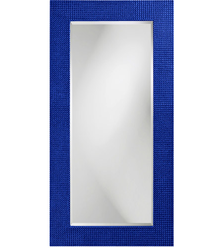 Howard Elliott Collection 2142RB Lancelot 32 X 21 inch Royal Blue Wall Mirror, Rectangle photo