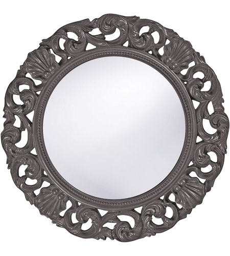 Howard Elliott Collection 2170CH Glendale 26 X 26 inch Charcoal Gray Wall Mirror, Round photo