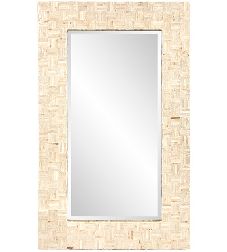Howard Elliott Collection 25161 Salvador 43 X 26 inch Natural Capiz Shells Wall Mirror photo