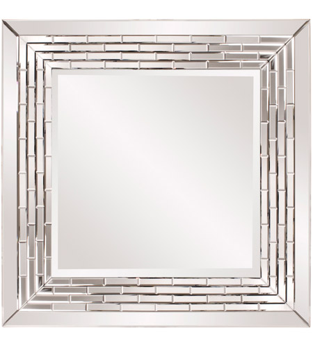 Howard Elliott Collection 29003 Mila 35 X 35 inch Wall Mirror, Square, Tiled Mirror Inset photo