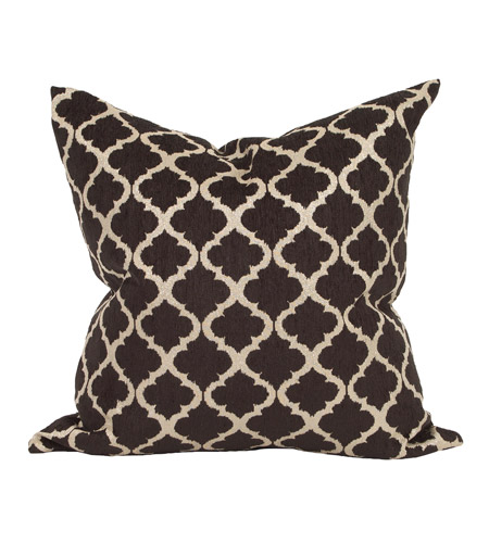 Howard Elliott Collection 3-609F Davida Kay 24 inch Moroccan Onyx Pillow, with Down Insert photo