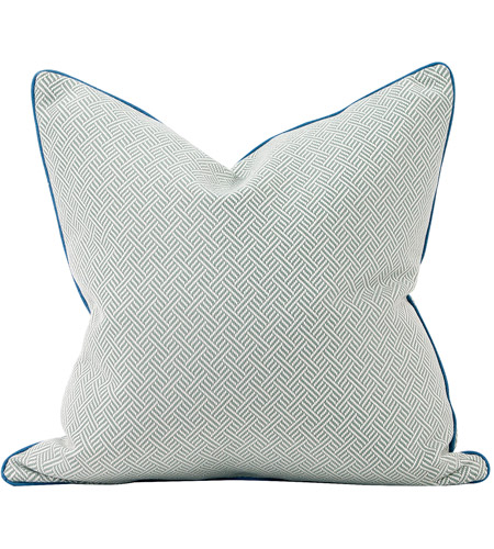 Howard Elliott Collection 3-642F Madcap Cottage 24 inch Beach Club Ocean Pillow, with Down Insert photo