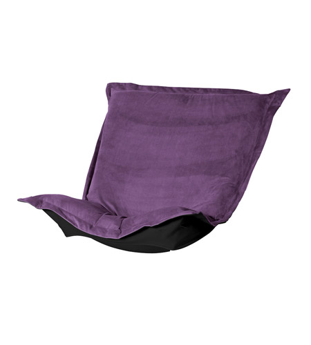 Howard Elliott Collection 300-223P Bella Eggplant Purple Chair Cover photo