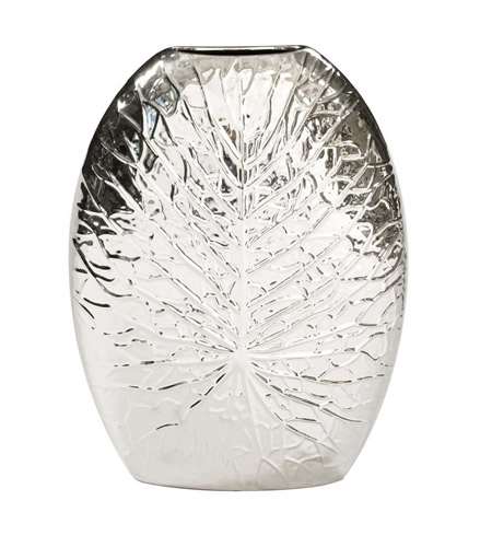 Howard Elliott Collection 34130 Crackled 16 X 12 inch Vase, Large photo
