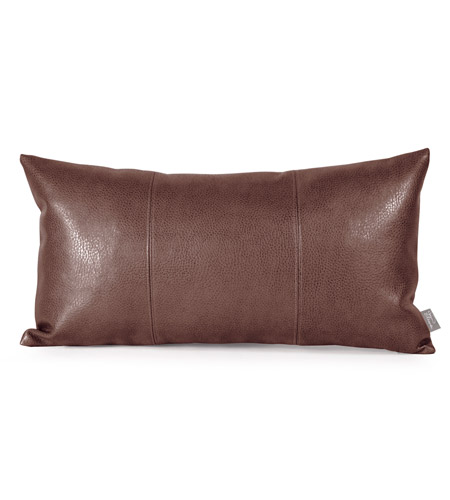Howard Elliott Collection 4-192 Avanti 22 X 6 inch Deep Brown Pillow photo