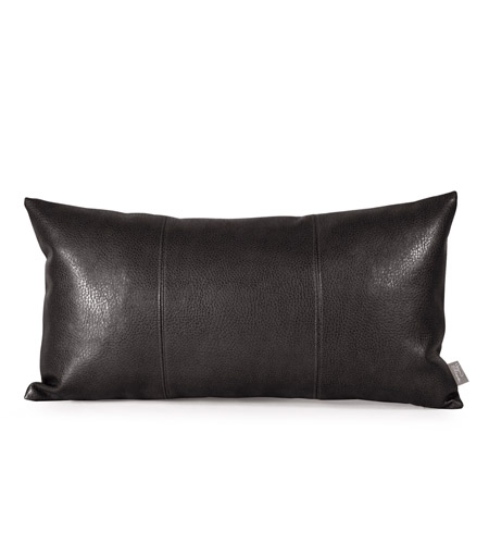 Howard Elliott Collection 4-194 Kidney 22 X 6 inch Sultry Black Pillow photo