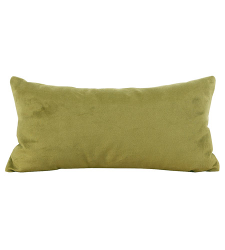 Howard Elliott Collection 4-221F Bella 22 X 6 inch Rich Green Pillow photo