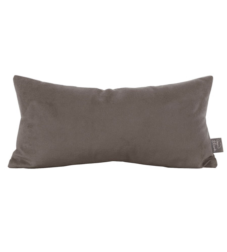 Howard Elliott Collection 4-225 Bella 22 X 6 inch Pewter Gray Pillow photo