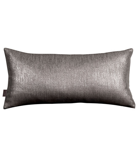 Howard Elliott Collection 4-236 Glam 22 X 6 inch Graphite Pillow photo