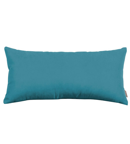 Howard Elliott Collection 4-250 Mojo 22 X 11 inch Turquoise Blue Pillow photo