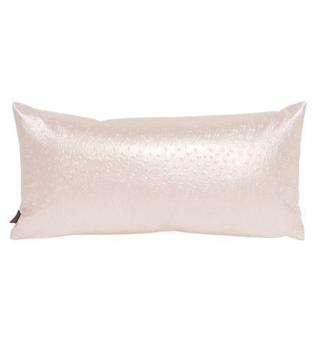 Howard Elliott Collection 4-262 Kidney 22 X 11 inch Iridescent White Pillow photo