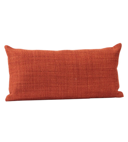 Howard Elliott Collection 4-885F Kidney 22 inch Coco Coral Pillow, with Down Insert photo