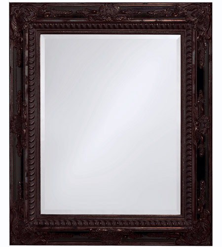 Howard Elliott Collection 4031 Monaco 37 X 30 inch Wood Wall Mirror, Rectangle photo