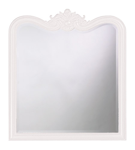 Howard Elliott Collection 4079W Eliza 38 X 34 inch Black Wall Mirror, Rectangle photo
