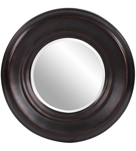 Howard Elliott Collection 4082 Dublin 33 X 33 inch Burnished Copper Wall Mirror, Round photo