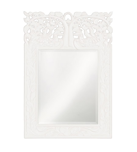 Howard Elliott Collection 4084W Oakvale 25 X 17 inch Khaki Wall Mirror, Rectangle photo