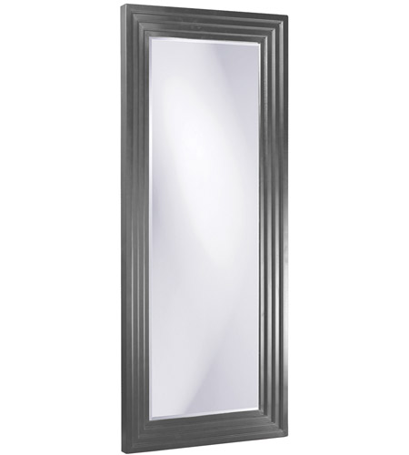 Howard Elliott Collection 43057CH Delano 82 X 34 inch Charcoal Gray Floor Mirror, Rectangle photo