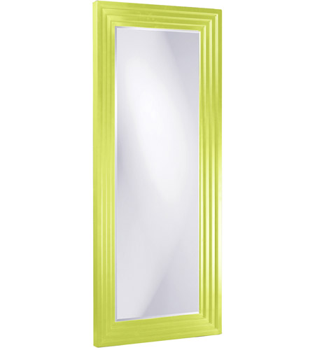 Howard Elliott Collection 43057MG Delano 82 X 34 inch Green Floor Mirror, Rectangle photo