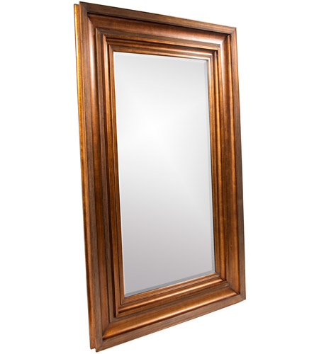 Howard Elliott Collection 43072 Baxter 90 X 58 inch Antique Gold Wall Mirror, Rectangle photo
