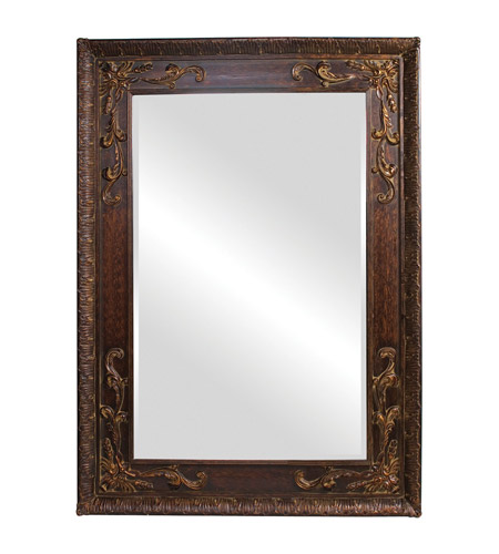 Howard Elliott Collection 43100 Lila 84 X 60 inch Antique Gold Wall Mirror, Rectangle  photo