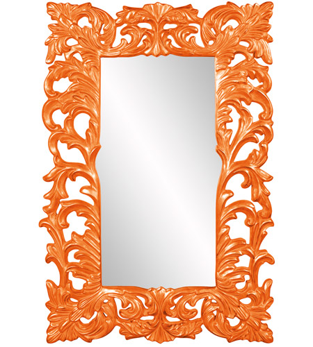 Howard Elliott Collection 43130O Augustus 70 X 46 inch Orange Wall Mirror, Rectangle photo