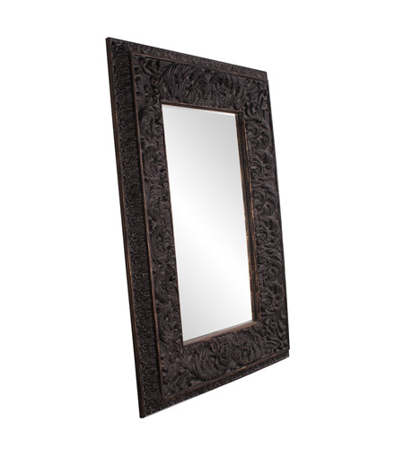 Howard Elliott Collection 43132 Goliath 90 X 61 inch Antique Black Floor Mirror, Rectangle photo
